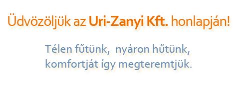 Uri-Zanyi szlogen